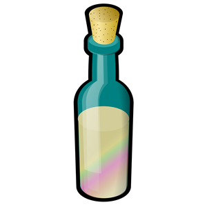 Of Colored Sand With Cork Clipart Cliparts Of Bottle Of Colored.