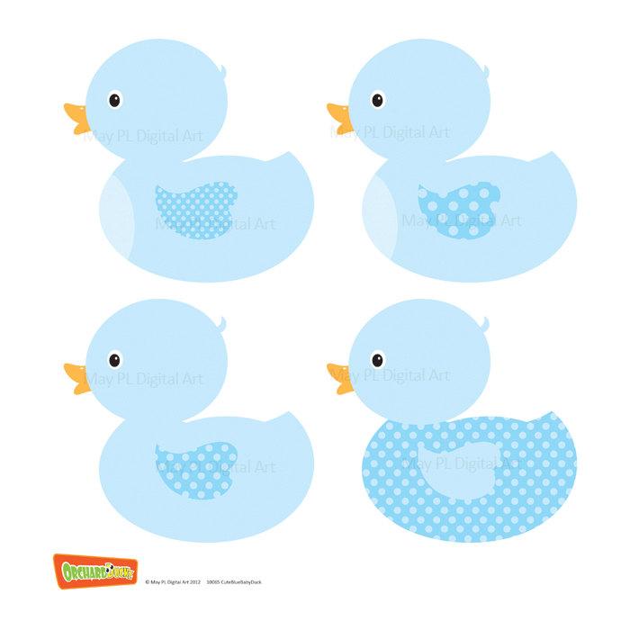 Baby Duck Clipart.