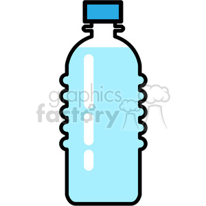 full water bottle icon clipart. Royalty.