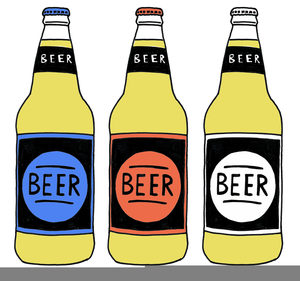 Free Clipart Of Beer Bottles.