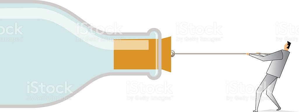 Bottleneck stock vector art 468063358.