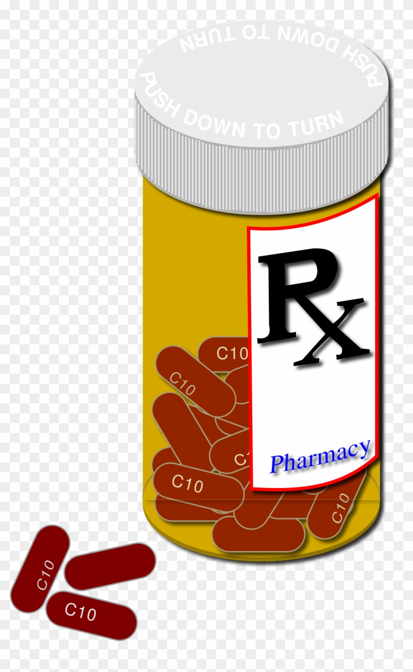 Pill Bottle Clip Art N7.