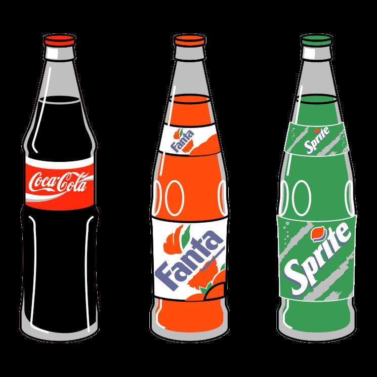 Soda Bottle Clipart Free Best On Transparent Png.