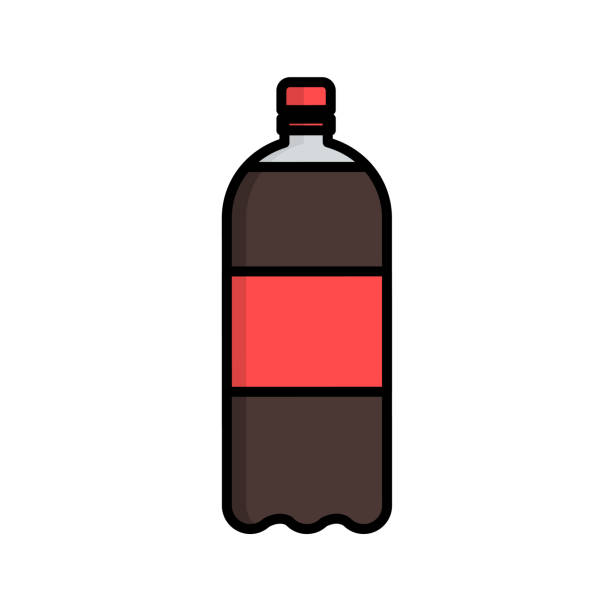 Best Soda Bottle Illustrations, Royalty.