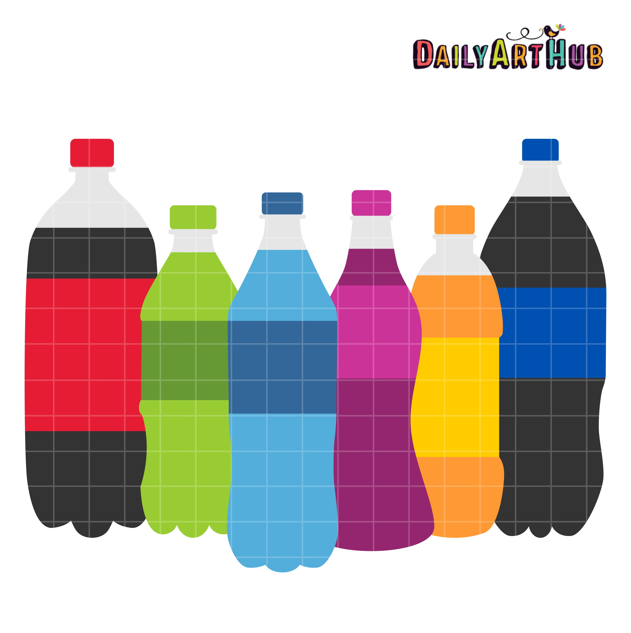 Bottle clipart soda bottle, Bottle soda bottle Transparent FREE for.