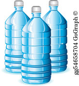 Bottled Water Clip Art.