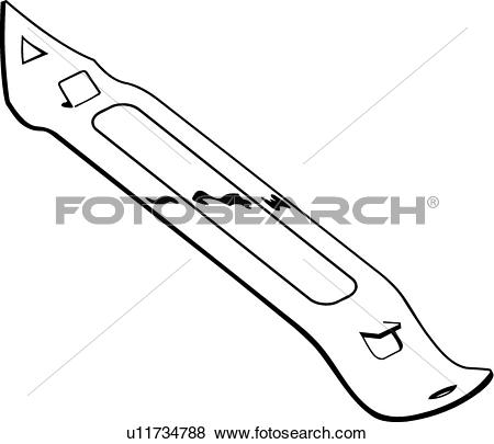 Clip Art of Bottle Opener u11734788.
