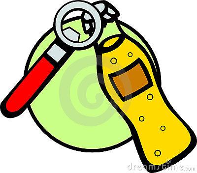 Drink And Bottle Opener Vector Illustration Stock Images.