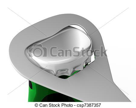 Stock Illustrations of Bottle opener.