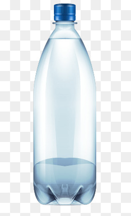 Plastic Bottle, Plastic Bottle, Mineral #26137.