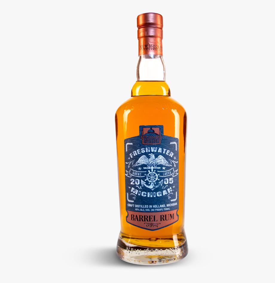 Rum Bottle Png.
