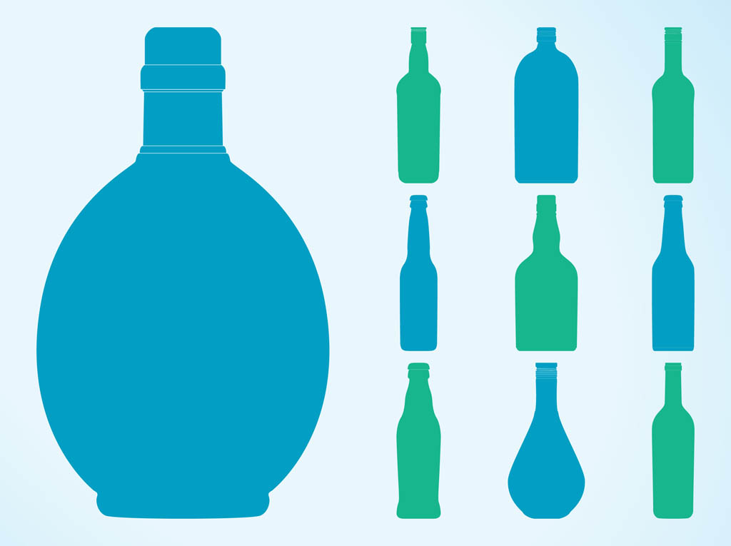 Bottle Silhouette at GetDrawings.com.