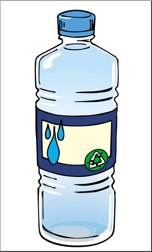 Clip Art: Bottled Water Color I abcteach.com.