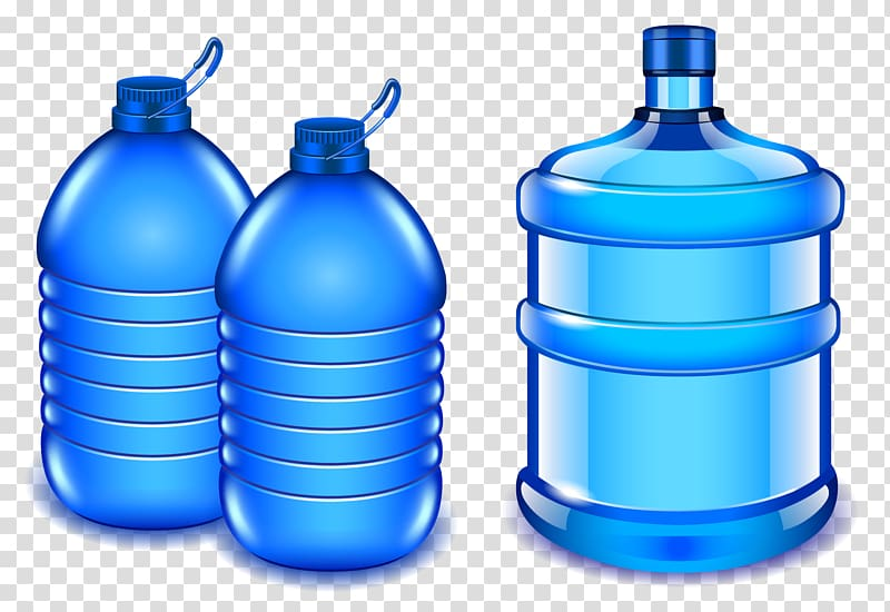Water jugs illustration, Water bottle Bottled water , Pure Water.
