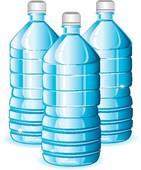 Bottled water clipart.