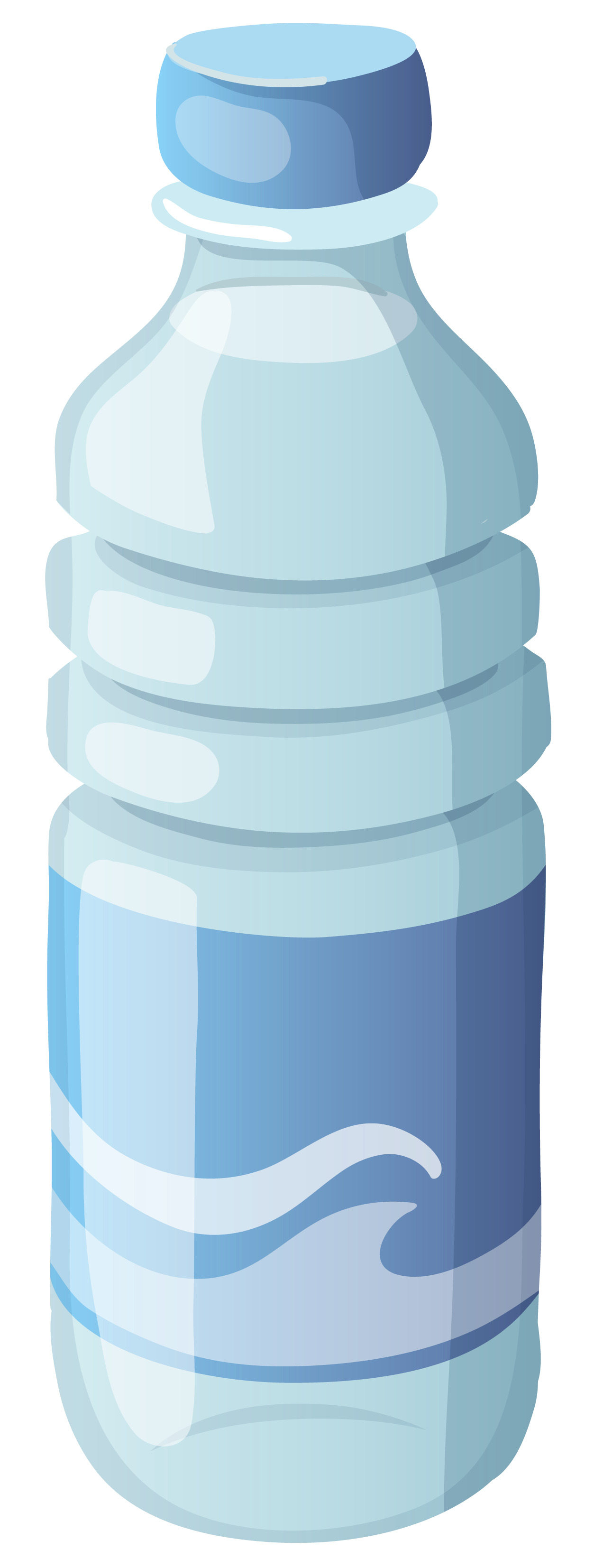 Bottled water clip art.