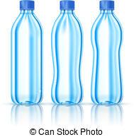 Bottled Water Bottle Clipart.