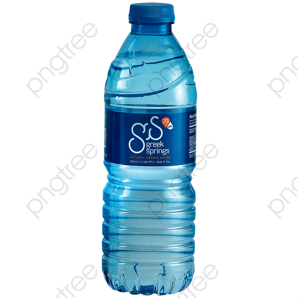 Mineral Water Bottles, Water Clipart, Mineral Water, Water Bottle.