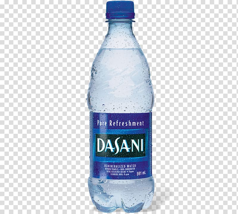 Dasani Bottled Water Water bottle, Dasani Water Bottle transparent.