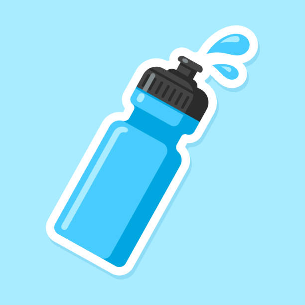 Royalty Free Water Bottles Clip Art, Vecto #362093.