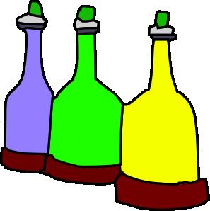 Bottles Clipart.