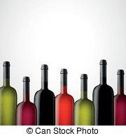 Wine bottle clipart border.