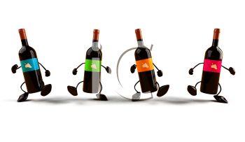 Funny Wine Clipart.
