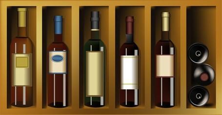 Wine Bottles Bottles Paste Wine And Vintage Wine Posters, Clip Art.