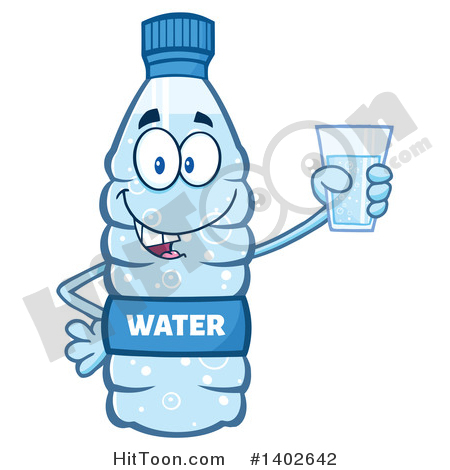 Bottled Water Clipart #1.