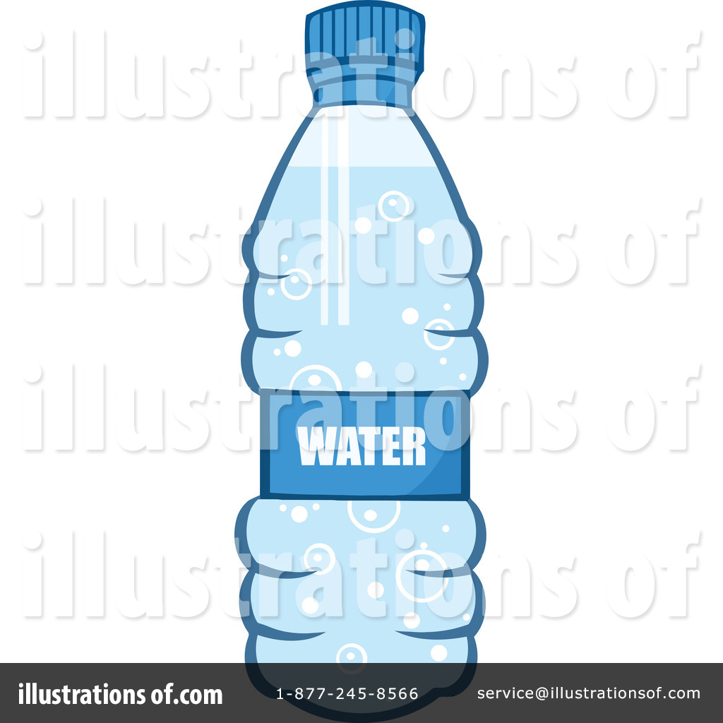 Bottled water clipart free.