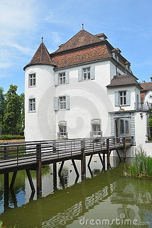 Moated Castle Bottmingen.