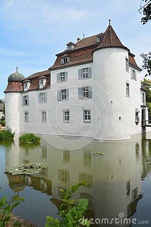 Bottmingen Castle, Near Basel, Switzerland Stock Photos.