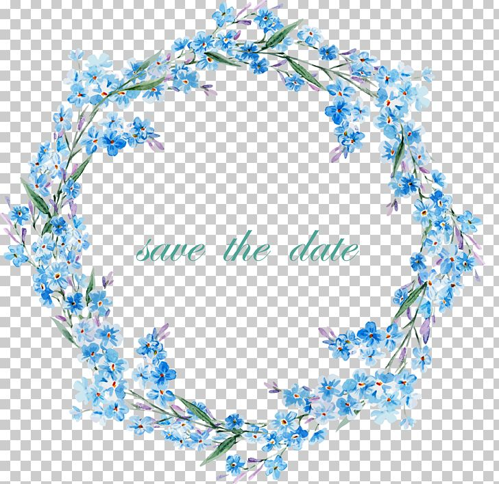Flower Frame PNG, Clipart, Blue, Blue Flowers, Blue Rose, Border.