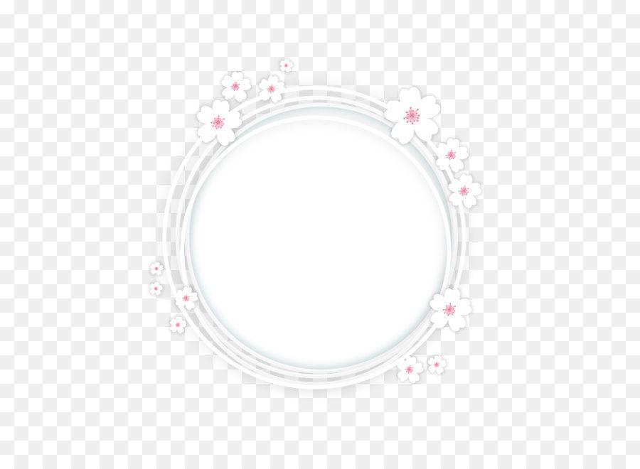 Pattern Background Frame png download.