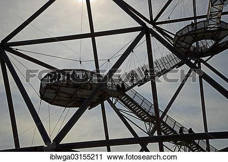 """Stock Photography of """"Tetraeder on the former slag heap of."""
