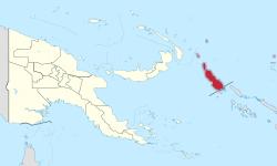 Autonomous Region of Bougainville.