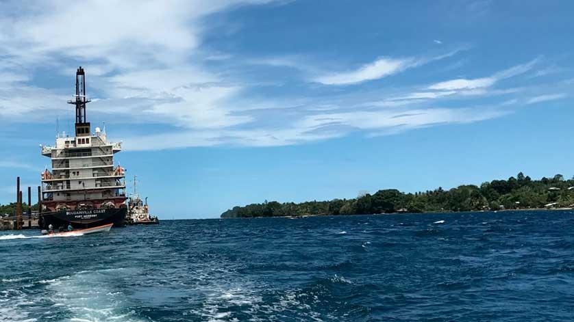 MAKO Tidal Turbines in The Buka Passage, Bougainville, PNG.