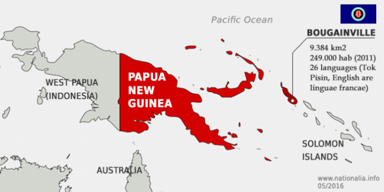 Vote on Bougainville's independence from Papua New Guinea delayed.