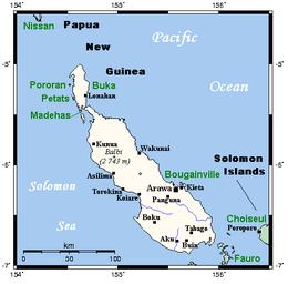 Bougainville Island.