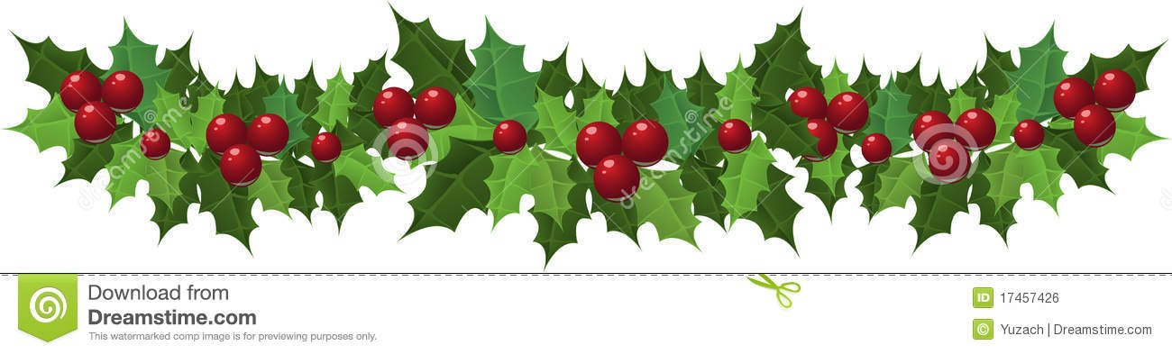 2956 Holly free clipart.