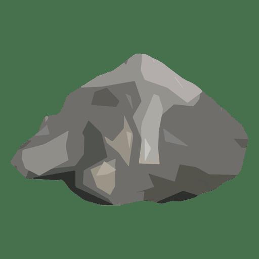 Stone boulder.