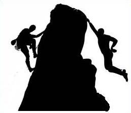 Rock climbing clip art free.