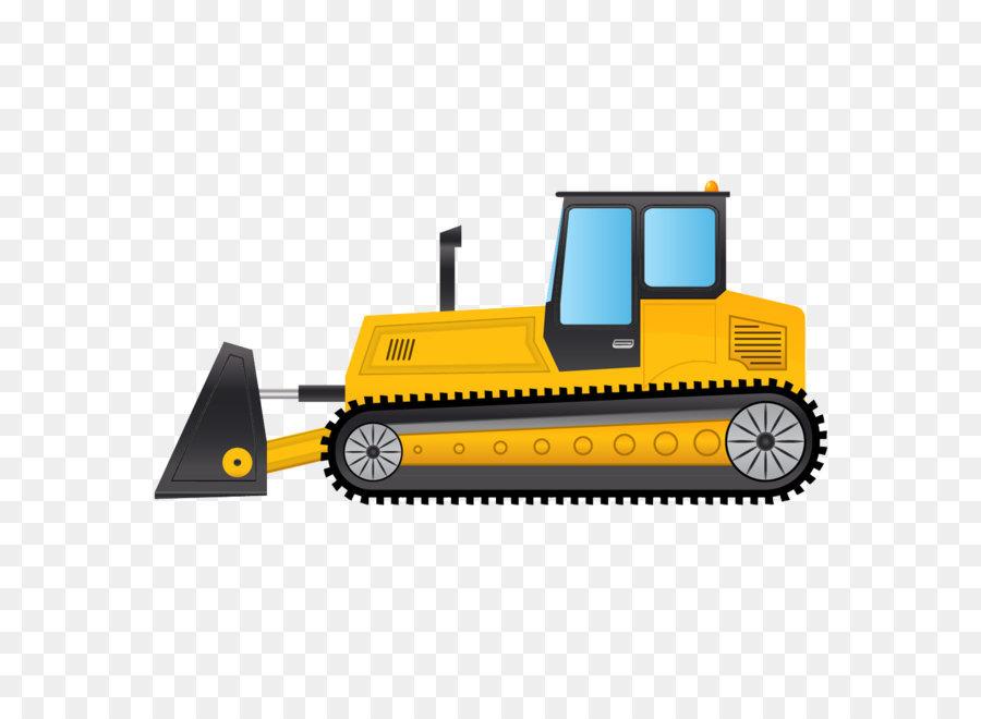 Bulldozer clipart machinery, Bulldozer machinery Transparent.