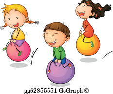 Bounce Clip Art.