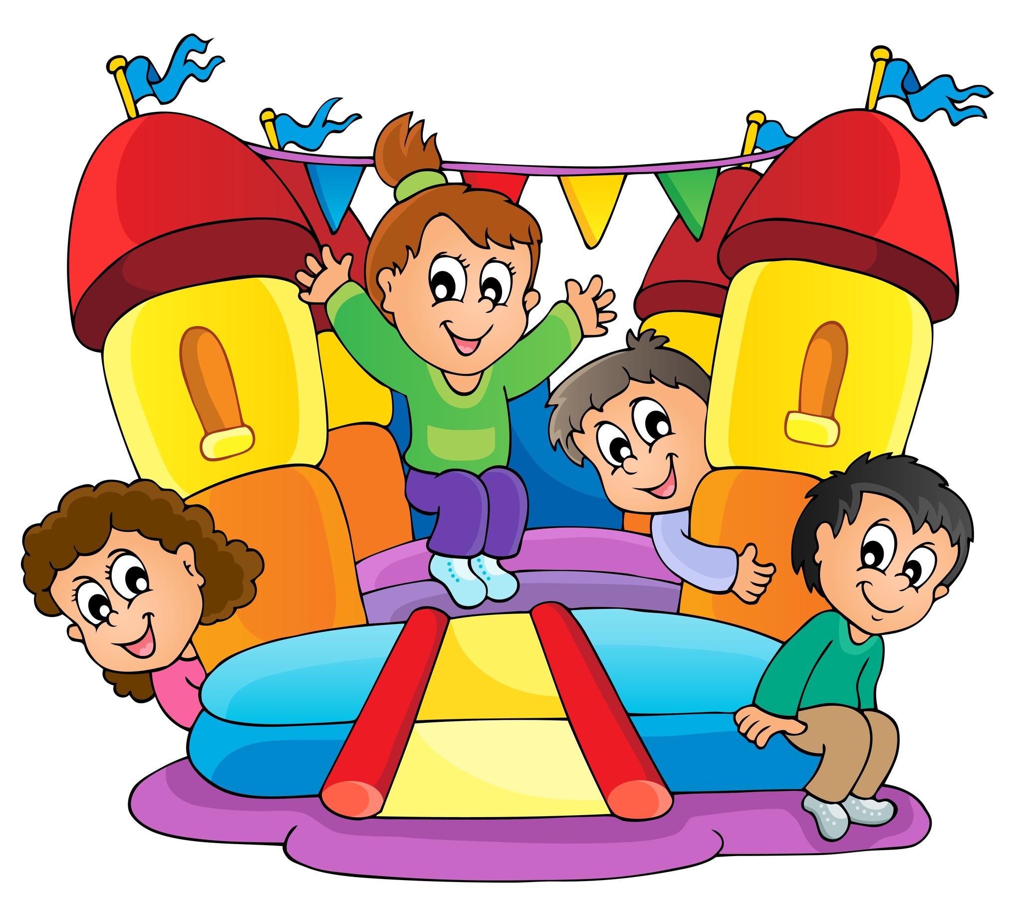 Bounce House Clip Art & Bounce House Clip Art Clip Art Images.