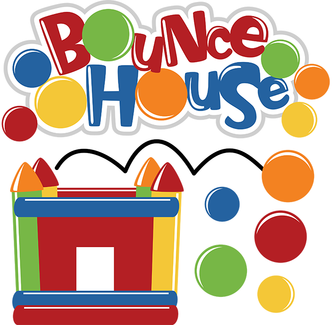 Carnival Bounce House Clipart.