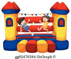 Bounce House Clip Art.