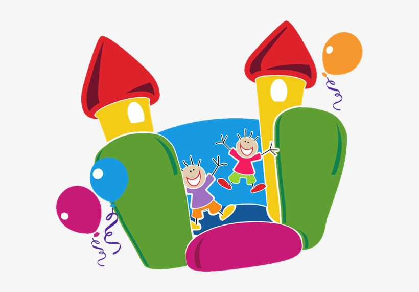 Free Bounce House Clip Art.