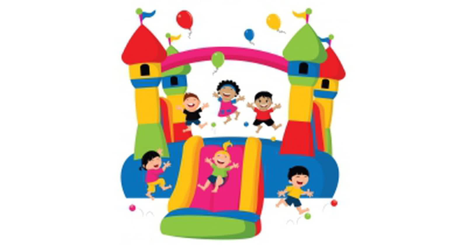 Bouncy House Clipart.