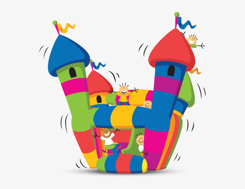 Download Free png Bounce House Clipart At Getdrawings Bouncy Castle.